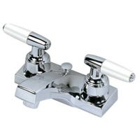 Lavatory Faucet With Pop-Up, 2 Handle, Chrome