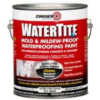 Mold & Mildew Proof Waterproofing Paint For Basements & Masonry, Gallon