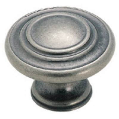 Image of 1-3/8-In. Nickel 3-Ring Cabinet Knob