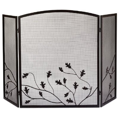Image of 3-Panel Fireplace Screen