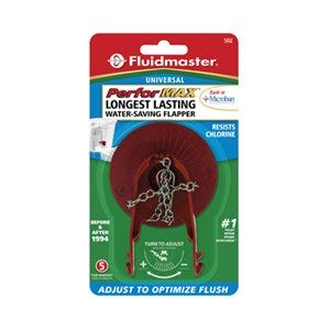 Adjust-A-Flush Toilet Flapper, Red