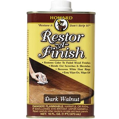 Image of Restor-A-Finish For Dark Walnut Finish, 16-oz.