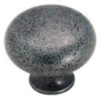 1.25-In. Wrought Iron Legacy Cabinet Knob