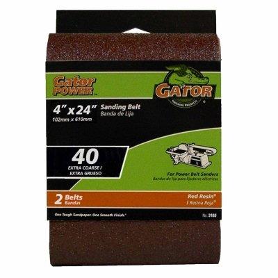 Image of 2-Pack 4 x 24-Inch 40-Grit Bi-Directional Sanding Sheet