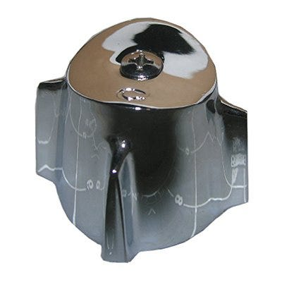 Contempera Cold Faucet Handle, Small, Chrome