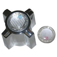 Star Flow Shower Faucet Handle, Twin, Chrome