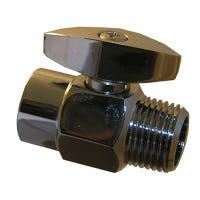 Chrome Plated Brass Showerhead Flow Adjuster