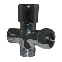 Chrome Plated Brass Shower Flow Diverter