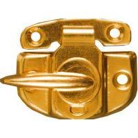 Window Sash Lock, Cam-Action, Bright Brass Finish