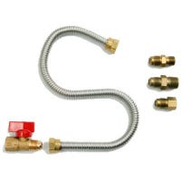 Universal Gas Appliance Hookup Kit For Gas Logs