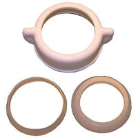 PVC Slip Joint Nut & Washers, 1.25 or 1.5-In. O.D.