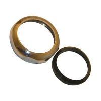Slip Joint Nut Kit, Brass, 1-1/2-In.