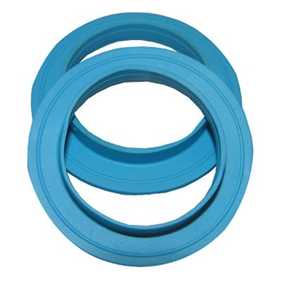 Solution Silicone Slip Flanged Tailpiece Washer, 1.5-In., 2-Pk.