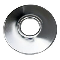 Sure Grip Shallow Flange, Bright Chrome, 3/8-In. IP
