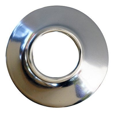 Sure Grip, Chrome Plated Shallow Flange, Fits 3/4-In. Iron Pipe
