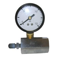 Gas Test Gauge, 0 to 15 PSI
