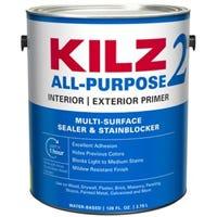 Latex Primer, Sealer & Stain Blocker, White, 1-Gallon