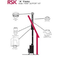 """""""A"""" Frame Roof Support Kit, 6-In."""