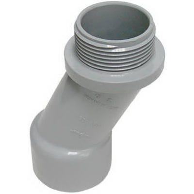 Conduit Fitting, PVC Meter Offset, 30-Degree, Schedule 40, 2-In.