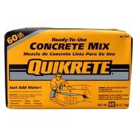 Concrete Mix, 60-Lbs.
