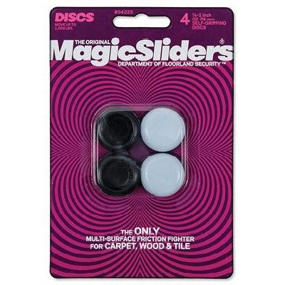 Image of Surface Protectors, Chair & Table Grips, 7/8 x 1-In., 4-Pk.