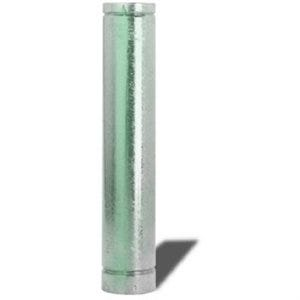 Gas Vent Chimney Pipe, Type B, 6-In. x 5-Ft.