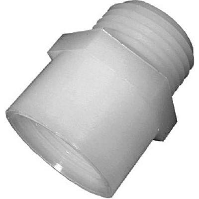 Pipe Fitting, Nylon Adapter Fitting, 3/4 MGH x 3/4-In. FPT
