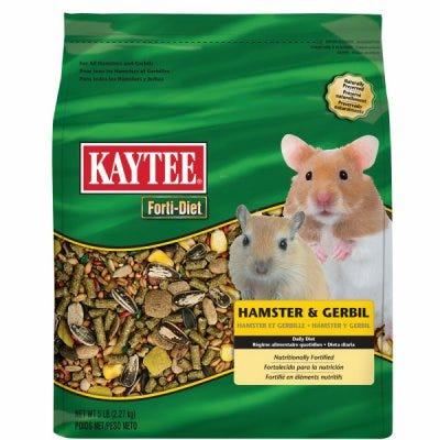 Forti-Diet Hamster & Gerbil Food, 5-Lbs.