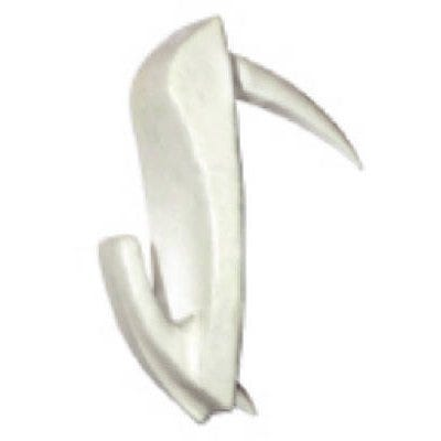 Wall Biter Picture Hangers, White, Small, 4-Pk.