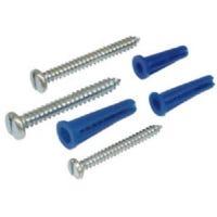 6-Cavity Plastic Anchor/Phillips Screw Assortment, 7-oz.