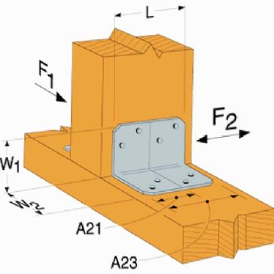Image of Angle Z-Max, 90-Degree Angle, 18-Gauge Steel