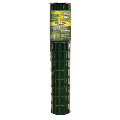 PVC Welded Wire Fence, 36-In. x 50-Ft.