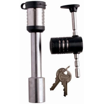 5/8-In. Barbell Receiver Pin & Coupler Lock, Stainless Steel Sleeve