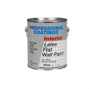 Good Interior Latex Paint, Flat White, 1-Gallon