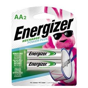 Rechargeable Batteries, AA, 2-Pk.