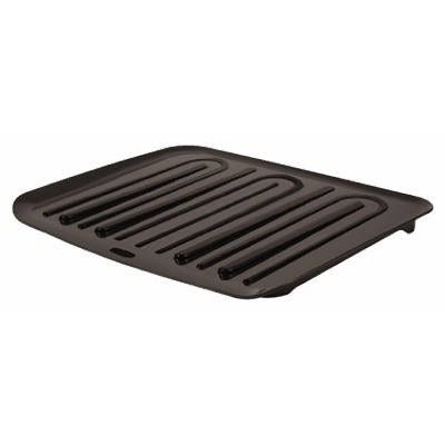 Drain Tray, Black Plastic, Large