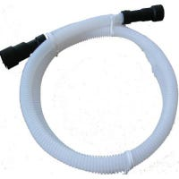 Corrugated Plastic Dishwasher Discharge Hose, 1/2-In. x 6-Ft.