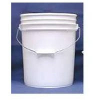 Industrial Pail, White Plastic, 5-Gals.