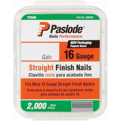 Image of 2,000-Count 2-Inch 16-Gauge Galvanized Finish Nails