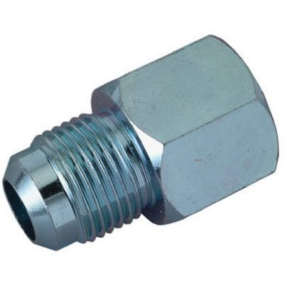 Adapter, Steel, 5/8-In. O.D. Flare 15/16 -16 x 1/2-In. Female Iron Pipe