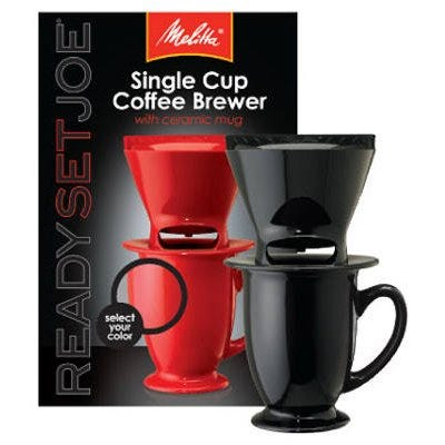 Ready Set Joe 1-Cup Coffee Maker