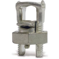 Aluminum Split Bolt Connector, 2 AWG