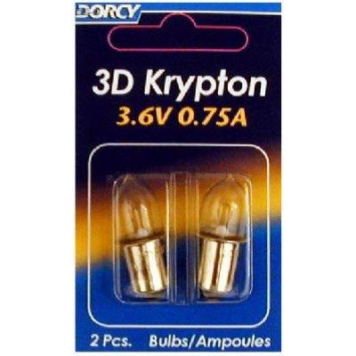 Image of Flashlight Bulbs, 3D Kypton, 2-Pk.