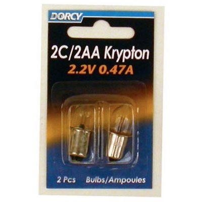 Image of 2-Pack 2C/2 'AA' Kpr104 Krypton Bulb