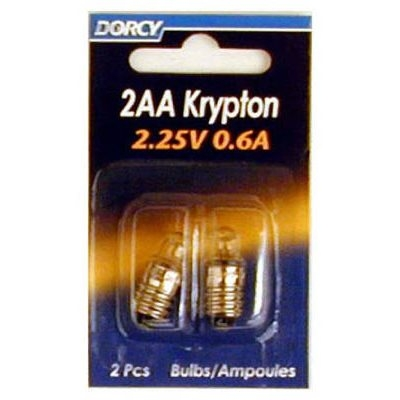 Image of Flashlight Bulbs, 2AA Krypton, 2-Pk.