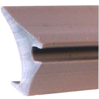 Vinyl Glazing Spline, Gray, .160 x .390-In.