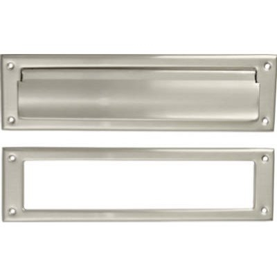 Image of Mail Slot, Satin Nickel, 2 x 11-In.