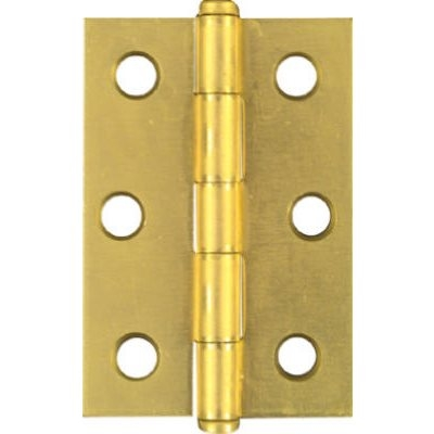 Image of 2-1/2-Inch Brass Cabinet Hinge