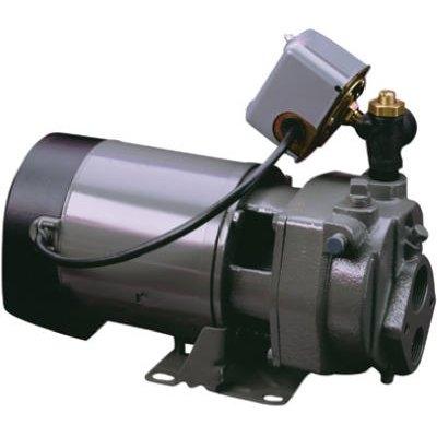 Image of Deep Well Jet Pump, Convertible, Cast-Iron, 3/4-HP