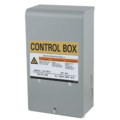 Image of Flint & Walling Control Box For Submersible Pump, .5-HP Motor, 230-Volt